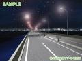 夜の湾岸道