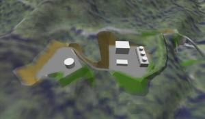 地熱発電所の配置検討