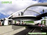 シンボリック歩道橋VR