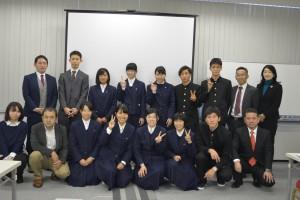 長崎県立宇久高校の生徒の皆さんが、企業訪問に当社を訪れました